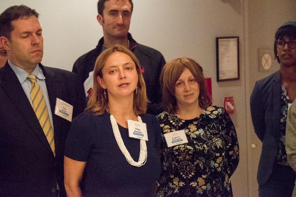 Paul Booth, Applied Surgical Robotics; Katya Sverdlov and Eugenia Steingold, JelikaLite