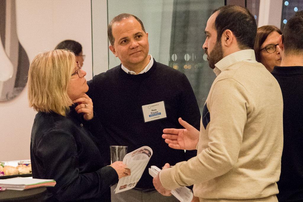 Deborah Novick, BioInc@NYMC; Reza Royaee and Bahram Barami, DispoMeds
