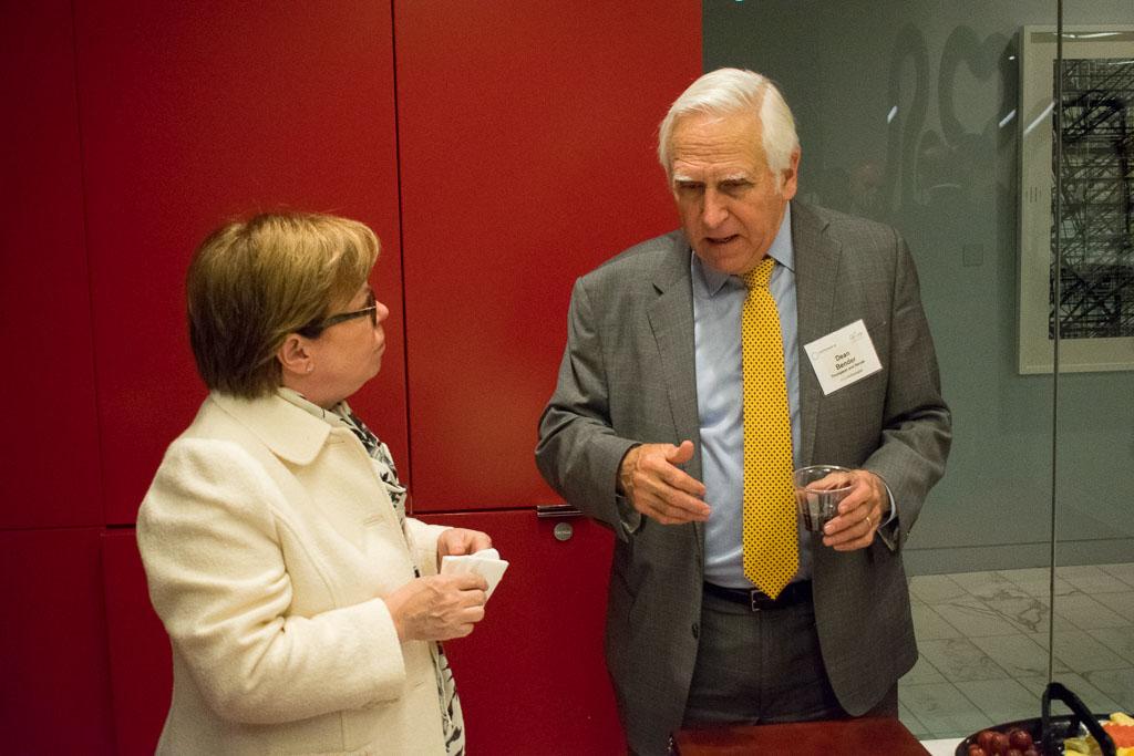 Bridget Gibbons, Westchester County Economic Development; Dean Bender, Bender & Thompson