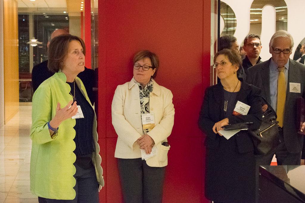 Mary Howard, ELabNYC & WCBA Program Director; Bridget Gibbons, Westchester County Economic Development; Deborah Smook, TurboFil Packaging Machines