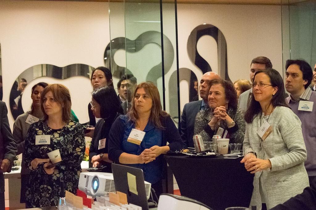 Eugenia Steingold, JelikaLite; Jen Dereka, Mintz; Janet Silverman, Castle Consulting Services; Muriel Liberto, Mintz